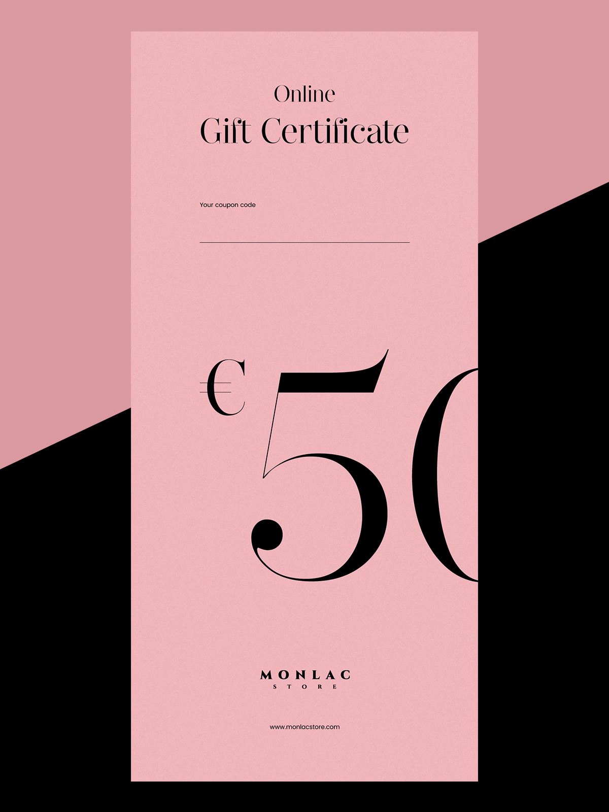 50 Online Gift Certificate Monlacstore Womens Sleepwear
