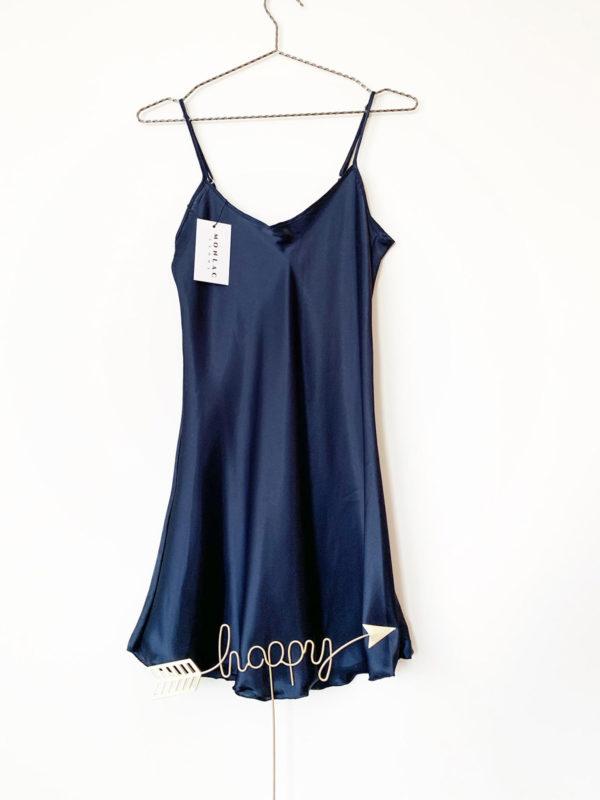 dark blue sleep dress nimes