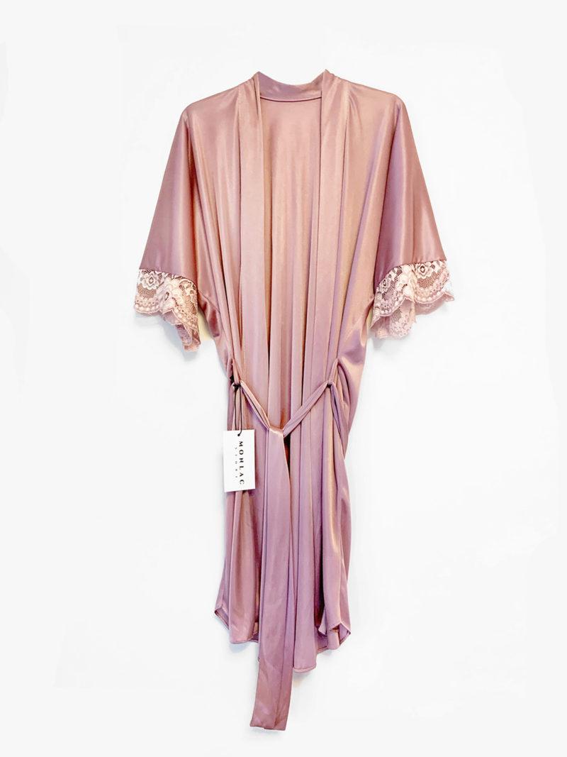 "Night Robe ""Marseille"" Pink"