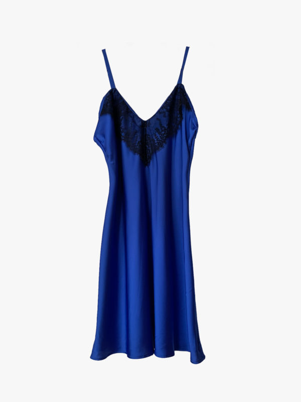 sleep dress blue